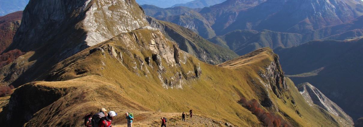 Valle Arni trek autunnale